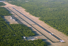 Aerial photo of KWYS (Yellowstone Airport)