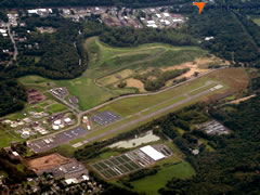 Aerial photo of KMMK (Meriden Markham Municipal Airport)