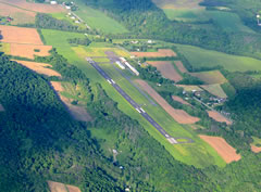 Aerial photo of N79 (Northumberland County Airport)