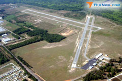 Aerial photo of KOGB (Orangeburg Municipal Airport)