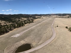 Aerial photo of 3V0 (Custer State Park Airport)