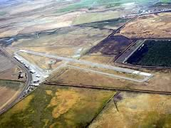 Aerial photo of 3O1 (Gustine Airport)