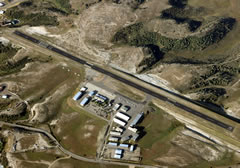 Aerial photo of KSBS (Steamboat Springs Airport/Bob Adams Field)
