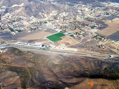 Aerial photo of L70 (Agua Dulce Airport)