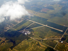 Aerial photo of KSCA (Sidney Municipal Airport)