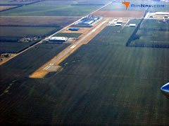 Aerial photo of 47K (Moundridge Municipal Airport)