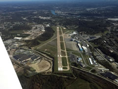 Aerial photo of KAGC (Allegheny County Airport)