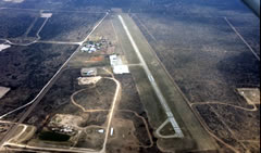 Aerial photo of KAPY (Zapata County Airport)