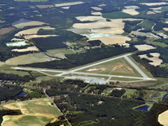 Aerial photo of KMGR (Moultrie Municipal Airport)