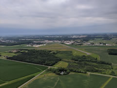 Aerial photo of KMFI (Marshfield Municipal Airport)