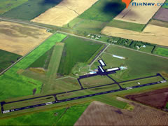 Aerial photo of KCKN (Crookston Municipal Airport Kirkwood Field)