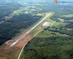 Aerial photo of 18A (Franklin County Airport)