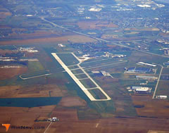 Aerial photo of KOWB (Owensboro-Daviess County Regional Airport)