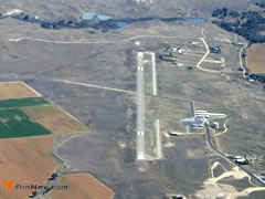 Aerial photo of KTOR (Torrington Municipal Airport)