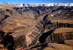 Aerial photo of KTEX (Telluride Regional Airport)