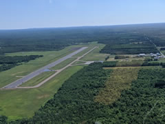 Aerial photo of KIWD (Gogebic-Iron County Airport)