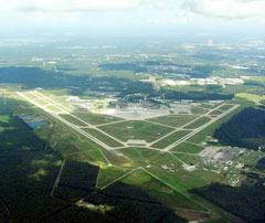 Aerial photo of KJAX (Jacksonville International Airport)