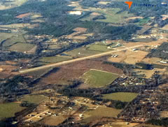 Aerial photo of KMVC (Monroe County Airport)