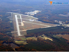 Aerial photo of KEMV (Emporia-Greensville Regional Airport)