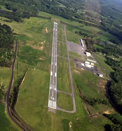 Aerial photo of KDNN (Dalton Municipal Airport)