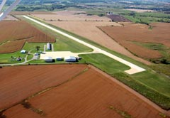 Aerial photo of KTVK (Centerville Municipal Airport)