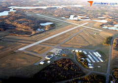 Aerial photo of KBRD (Brainerd Lakes Regional Airport)