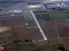 Aerial photo of KMEJ (Meade Municipal Airport)