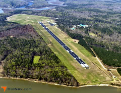 Aerial photo of W94 (Camp Peary Landing Strip Airport)