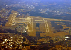 Aerial photo of KIAD (Washington Dulles International Airport)