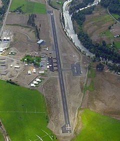 Aerial photo of S52 (Methow Valley State Airport)