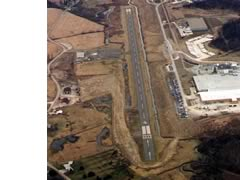 Aerial photo of KCDI (Cambridge Municipal Airport)
