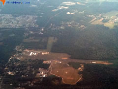 Aerial photo of 17N (Cross Keys Airport)