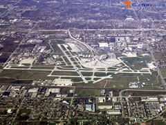 Aerial photo of KMKE (General Mitchell International Airport)