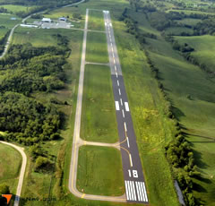Aerial photo of KRGA (Central Kentucky Regional Airport)