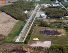 Aerial photo of 33N (Delaware Airpark)