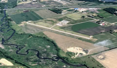 Aerial photo of D39 (Sauk Centre Municipal Airport)