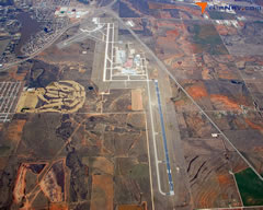 Aerial photo of KABI (Abilene Regional Airport)
