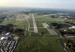 Aerial photo of KCAK (Akron-Canton Regional Airport)