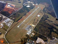 Aerial photo of KSCD (Merkel Field Sylacauga Municipal Airport)