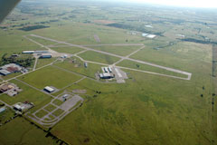 Aerial photo of KDUA (Durant Regional Airport - Eaker Field)