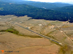 Aerial photo of KAXX (Angel Fire Airport)