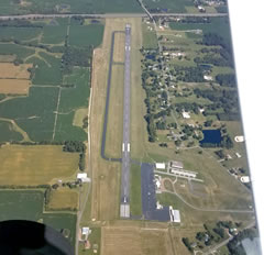 Aerial photo of M25 (Mayfield Graves County Airport)
