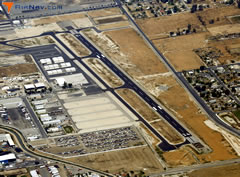 Aerial photo of L45 (Bakersfield Municipal Airport)