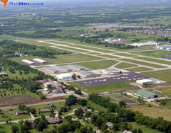Aerial photo of KOJC (Johnson County Executive Airport)