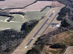 Aerial photo of KAQX (Allendale County Airport)