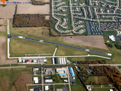 Aerial photo of KMGY (Dayton-Wright Brothers Airport)