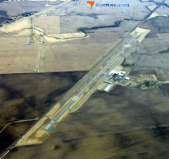 Aerial photo of I23 (Fayette County Airport)