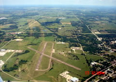 Aerial photo of F99 (Holdenville Municipal Airport)