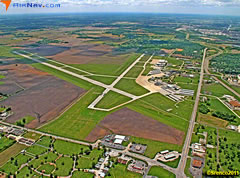 Aerial photo of KALN (St Louis Regional Airport)