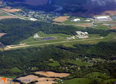 Aerial photo of I40 (Richard Downing Airport)